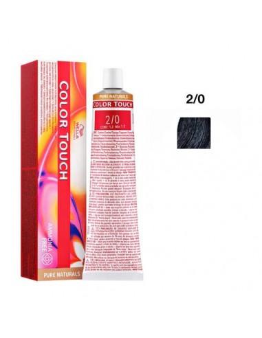 2/0 nero Wella color touch pure...